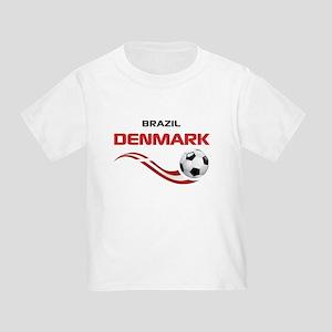 Soccer 2014 DENMARK Toddler T-Shirt