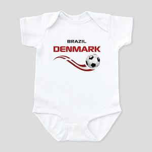 Soccer 2014 DENMARK Infant Bodysuit