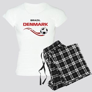 Soccer 2014 DENMARK Women's Light Pajamas