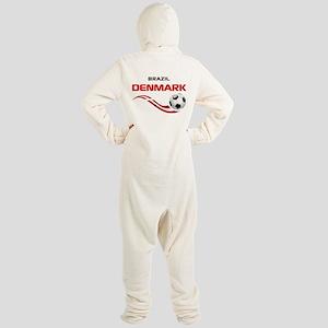 Soccer 2014 DENMARK Footed Pajamas