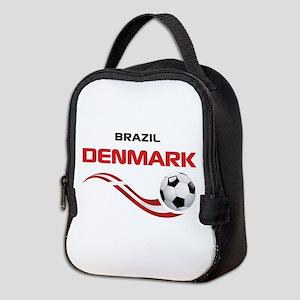 Soccer 2014 DENMARK Neoprene Lunch Bag