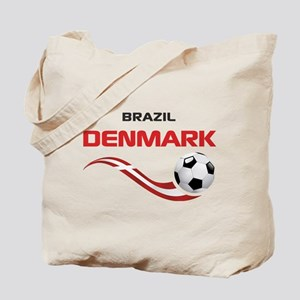 Soccer 2014 DENMARK Tote Bag