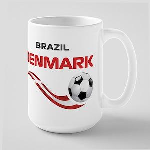 Soccer 2014 DENMARK Large Mug