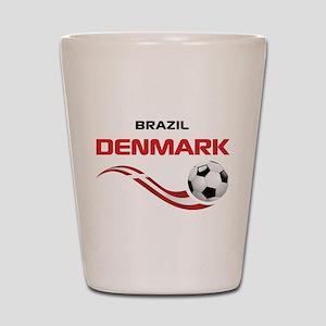 Soccer 2014 DENMARK Shot Glass