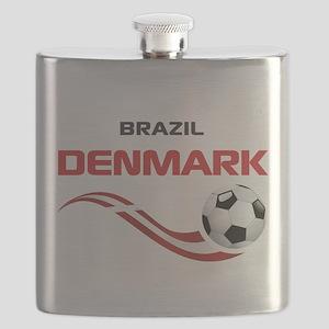 Soccer 2014 DENMARK Flask