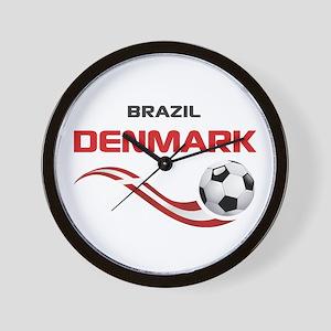 Soccer 2014 DENMARK Wall Clock