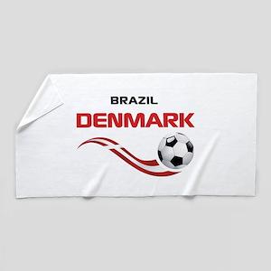 Soccer 2014 DENMARK Beach Towel