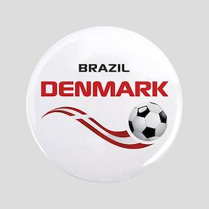"""Soccer 2014 DENMARK 3.5"""" Button"""