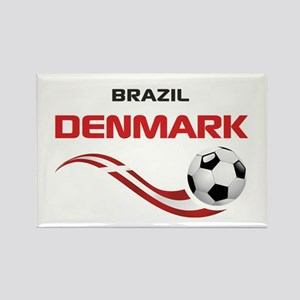 Soccer 2014 DENMARK Rectangle Magnet