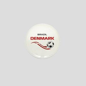 Soccer 2014 DENMARK Mini Button