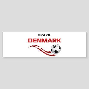 Soccer 2014 DENMARK Sticker (Bumper)