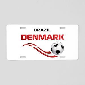 Soccer 2014 DENMARK Aluminum License Plate