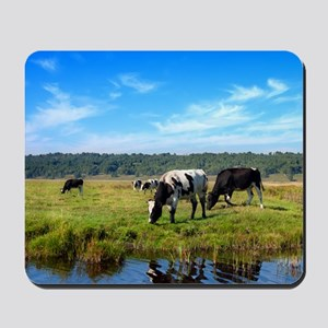 Beautiful Cow Landscape Mousepad