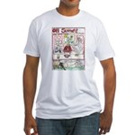 Rent Money Fitted T-Shirt