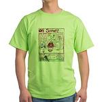 Rent Money Green T-Shirt