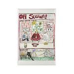 Rent Money Rectangle Magnet (100 pack)