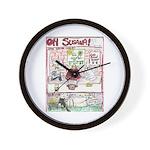 Rent Money Wall Clock
