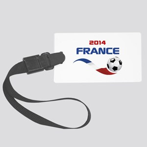 Soccer 2014 FRANCE Large Luggage Tag