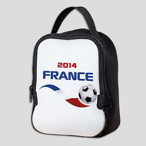 Soccer 2014 FRANCE Neoprene Lunch Bag