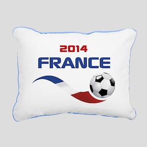 Soccer 2014 FRANCE Rectangular Canvas Pillow