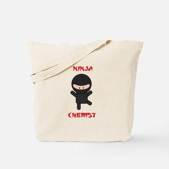 Ninja Chemist Tote Bag