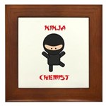 Ninja Chemist Framed Tile