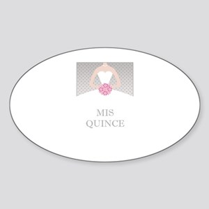Lovely Quinceanera Motif Sticker