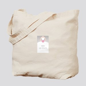 Lovely Quinceanera Motif Tote Bag