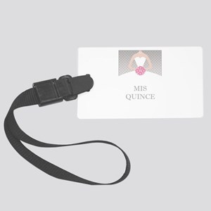 Lovely Quinceanera Motif Luggage Tag