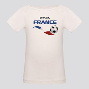 Soccer 2014 FRANCE 1 Organic Baby T-Shirt
