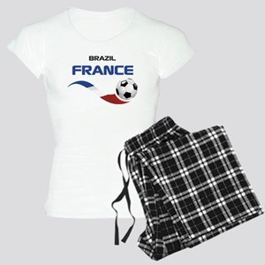 Soccer 2014 FRANCE 1 Women's Light Pajamas