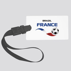 Soccer 2014 FRANCE 1 Large Luggage Tag