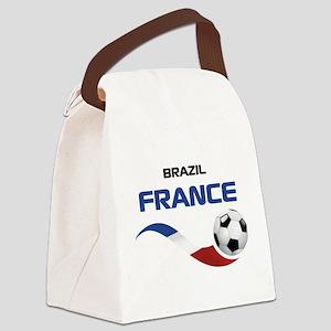 Soccer 2014 FRANCE 1 Canvas Lunch Bag