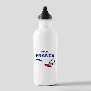 Soccer 2014 FRANCE 1 Stainless Water Bottle 1.0L