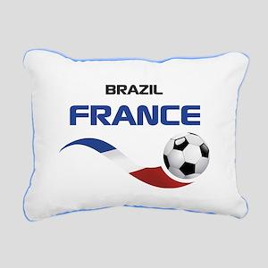 Soccer 2014 FRANCE 1 Rectangular Canvas Pillow