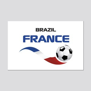 Soccer 2014 FRANCE 1 Mini Poster Print