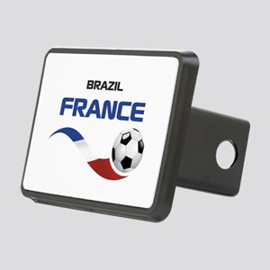 Soccer 2014 FRANCE 1 Rectangular Hitch Cover