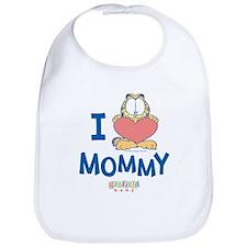 Baby GARFIELD, Heart Mommy, Bib