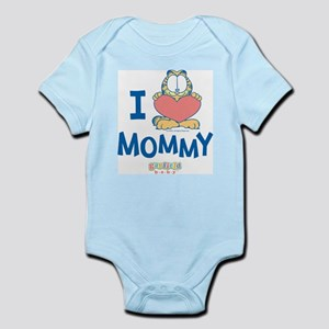 Baby GARFIELD, Heart Mommy, Infant Bodysuit