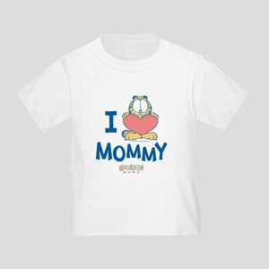 Baby GARFIELD, Heart Mommy, Toddler T-Shirt
