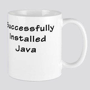 Successfully Installed Java Mugs