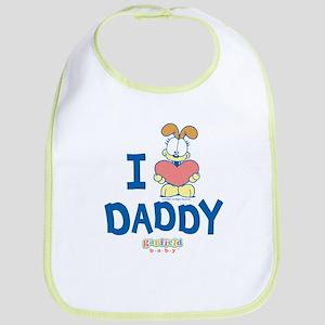 "Baby Odie ""Heart Daddy"" Bib"