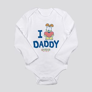 "Baby Odie ""Heart Daddy"" Long Sleeve Infant Bodysui"