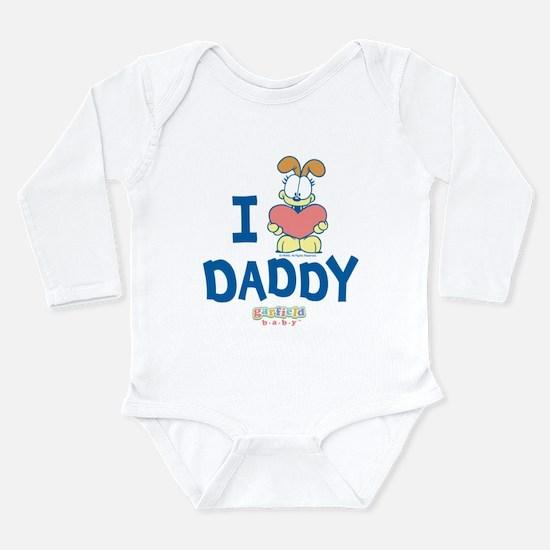 "Baby Odie ""Heart Daddy"" Long Sleeve Infant Bodysui"