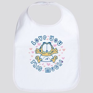 Love You This Much Bib