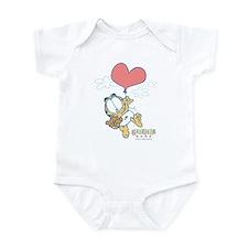Heart Balloon Infant Bodysuit