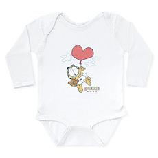 Heart Balloon Long Sleeve Infant Bodysuit