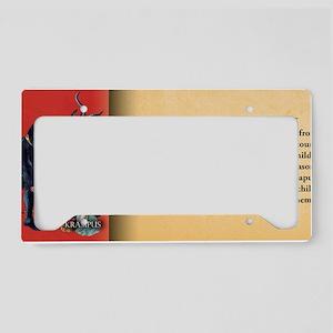 Krampus Historical License Plate Holder
