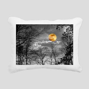 Harvest Moon Rectangular Canvas Pillow