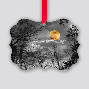 Harvest Moon Picture Ornament